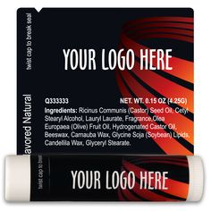 TLB2295 - Business Lip Balm Template 2295 #chapstick #fundraising