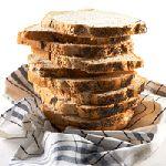 Maanzaadbrood uit de broodmachine