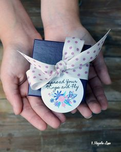 """""""Spread Your Wings and Fly"""" free butterfly printable; perfect to put on graduation gifts!  We paired it with the Hallmark Tricolor Butterfly Pendant for a graduation gift for a young woman.  #ad #HallmarkJewelry"""