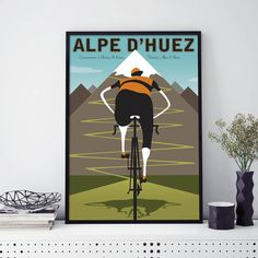 Are you interested in our Contemporary Cycling print Le Tour? With our Wallart Tour de France Bike you need look no further.