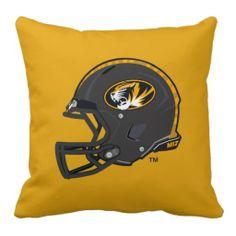 University of Missouri customizable pillow