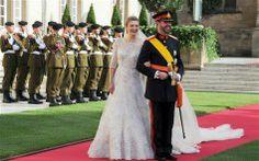 2012. Príncipe Guillermo, heredero de Luxemburgo, y Stephanie de Lannoy