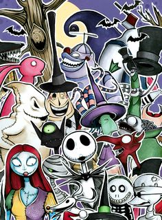 The Nightmare Before Christmas Characters