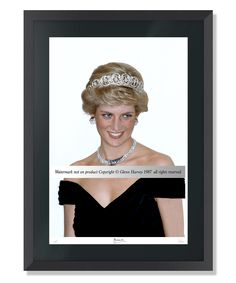 HRH DIANA, THE PRINCESS OF WALES LARGE FRAMED FINE ART MEMORABILIA LIMITED EDITION  A rare chance to purchase a special limited edition fine art framed photo.  Followers of Diana, Princess of Wales, will value this very special photograph of the Princess which was taken only a few years into her marriage to Prince Charles and at a time when the Royal couple enjoyed unrivalled popularity. Each print is signed and numbered by the photographer. #princessdiana #princessofwales