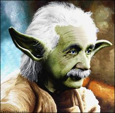 Einstein Yoda by ~Rabittooth on deviantART