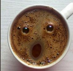 Even You Coffee Is Amazed That You Are Awake This Early - Funny Animal Pictures With Captions - Very Funny Cats - Cute Kitty Cat - Wild Animals - Dogs If you think my coffee is surprised, you should see my face! A laugh. Funny Animal Pictures, Funny Images, Funny Animals, Funny Cats, Wild Animals, Funniest Pictures, Quotes Images, I Love Coffee, My Coffee