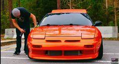 Drift spec Estilo Side Falda Para Nissan 180sx PS13 200SX