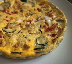 Vegetable Frittata | 21 Surprising Things You Can Make In A Rice Cooker