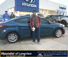 #HappyBirthday to Fausto Castillo from Danny Belew at Hyundai of Longview!