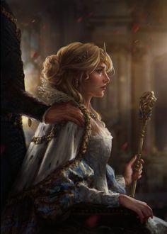 The Witcher/ False Ciri/ Gwent Card/ Nilfgaard Fantasy Girl, Fantasy Queen, 3d Fantasy, Medieval Fantasy, Fantasy Couples, Fantasy Princess, Final Fantasy, Fantasy Names, Fantasy Poster