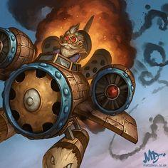Card Name: Flying Machine Artist: Matt Dixon