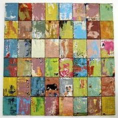 """Damian Aquiles  is a Cuban artist who in this series has used old cans as a canvas.   """"I like to work with used materials, for ..."""