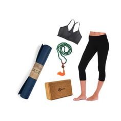 """""""yoga basics"""" by tequilacupcakes on Polyvore"""