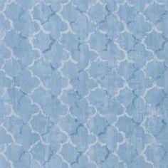 chinese trellis - cobalt wallpaper | Designers Guild