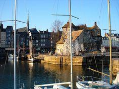 Honfleur- On the Normandy coast~
