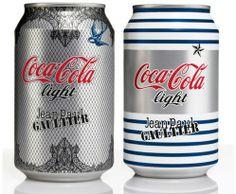 Jean Paul Gaultier Dresses Up Diet Coke Cans
