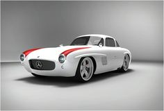 The 300SL Panamericana is a remake of the legendary Mercedes 300SL of the 50s, it gives you the opportunity to drive the glorious classic with the same appeal as the original but with performance and the latest technical standard of the cars of today.