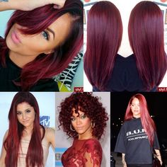Red/mulberry color