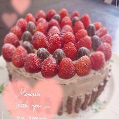 誕生日のケーキ、1000円以内で作ったよ! - 43件のもぐもぐ - バースデーケーキ by taekoko