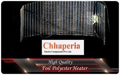 Chhaperia Electro is one of the leading electrical heating element manufacturer and supplier in India, offering wide range of electrical heating element products for domestic appliances and industrial applications under the category of mica heating elements, IR Quartz Heater, Radiant Heater, Foil Heaters, Polyester Heater, Nomex Heater and Tubular Heate