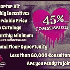Hey, Hey, Hey Everyone!   I want to share an amazing business opportunity with you! I've been in direct sales since 2009, and even with the successes that I had with those companies, Paparazzi outshines them all! I've been a consultant since mid-July, and I love it! Not only do we have an awesome 45% commission, but we also have beautiful, inexpensive (but not cheap) fashion jewelry. I'd love to help you on the journey to building your $5 Fashion Empire!   If you're reading this, I need your…