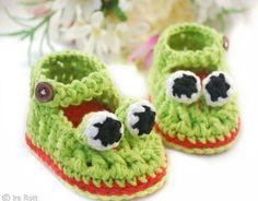 crochelinhasagulhas: Sapato de crochê I