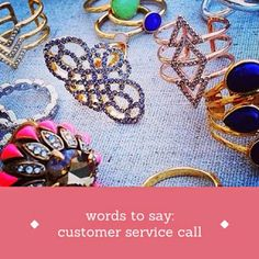 tips for stylists: words to say customer service call // a stylist's scribbles