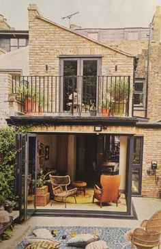 Home Renovation Backyard urban backyard goals - Victorian Terrace, Victorian Homes, House Extension Design, House Design, Future House, My House, House Extensions, Suites, Architectural Digest