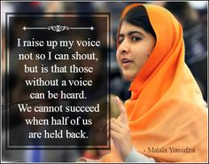 Malala Yousafzai Quotes Malala Yousafzai The World's 100 Most Influential People  Pinterest