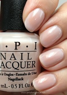 OPI Oz the Great and Powerful... That's a really nice nude color.
