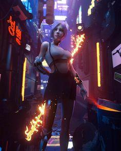 Cyberpunk 2077, Cyberpunk Mode, Cyberpunk Kunst, Cyberpunk Girl, Cyberpunk Aesthetic, Cyberpunk Fashion, Fashion Goth, Girl Fashion, Arte Steampunk
