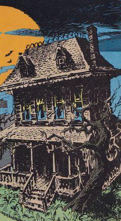 365 Days of Halloween Halloween Horror, Spooky Halloween, Vintage Halloween, Halloween Decorations, Happy Halloween, Arte Horror, Horror Art, Halloween Illustration, Illustration Art