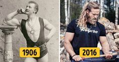 How standards ofmale beauty have changed over the last 100 years