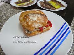 COCINICA de Benas: Mini chapata de sardinas de cubo picantes