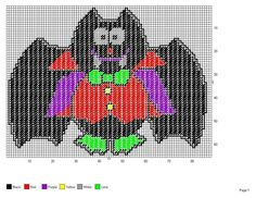 Plastic Canvas Halloween Bat... 10394562_10203490557297247_5585956157552960286_n.jpg (960×742)