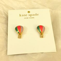 Spotted while shopping on Poshmark: listing Kate Spade Up Up and Away earrings! #poshmark #fashion #shopping #style #kate spade #Jewelry