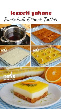 Portakallı Etimek Tatlısı Tarifi (videolu) – Nefis Yemek Tarifleri How to Make Orange Etimek Dessert Recipe (with video)? Cheesecake Recipes, Dessert Recipes, Desserts, How To Make Orange, Wie Macht Man, Yummy Food, Delicious Recipes, Sandwiches, Easy