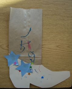 preschool craft idea momstown Calgary: Kids Get Crafty: Cowboy Boots and Cowboy Cookies