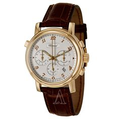 Chopard Luna D'oro Gold Chronograph Watch  ASHFORD.COM   MEN