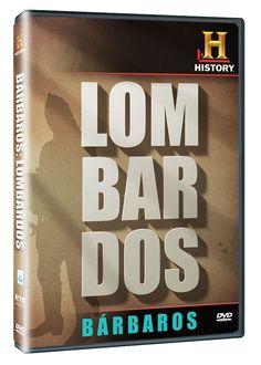 Diseño publicitario de DVD's - Stop Diseño Gráfico - Diseño de Lombardos - Bárbaros - History Channel.