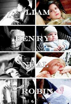Liam is Liam's half-brother; Henry is Henry's grandson; Neal is Neal's son's uncle; Robin is Robin's daughter