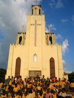 Katholieke kerk in Techiman, Centraal-Ghana. Door communitylid Bo2013 - NG ReisCommunity ©