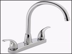 Peerless Choice Two Handle Kitchen Faucet Chrome Gpm L Min Ada Compliant When Installed Properly Faucet And Finish Lifetime Limited Warranty Compliant