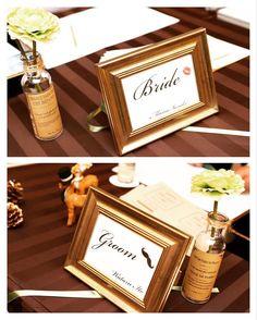【400円】フライングタイガーのフォトフレームの結婚式活用方法 | marry[マリー]
