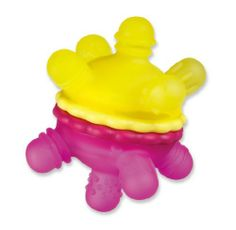 Munchkin Twisty Teether Ball  Colors May Vary: http://www.amazon.com/Munchkin-Twisty-Teether-Ball-Colors/dp/B000ID1FN0/?tag=headisstrandh-20