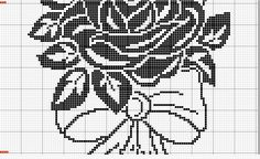 It is a website for handmade creations,with free patterns for croshet and knitting , in many techniques & designs. Filet Crochet, Crochet Patterns Filet, Crochet Cross, Crochet Chart, Thread Crochet, Cross Stitch Patterns, C2c Crochet, Crochet Curtains, Crochet Doilies