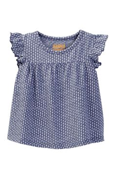 Harper Canyon - Textured Ruffle Top (Baby Girls). Free Shipping on orders over $100.