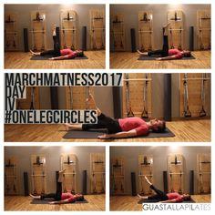 Matwork Pilates - One Leg Circles - MarchMatness