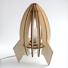 Laser Cut Lamp / Apollo by TheMakeLab