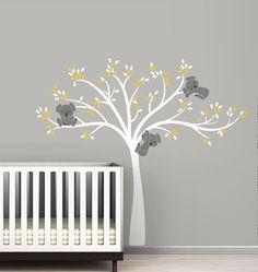 Baum Aufkleber Kinderzimmer Wand Aufkleber Baby Wand Aufkleber, Modern Dekoo